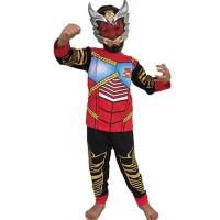HOT SALE Baju Anak Kostum Topeng Superhero Satria Garuda Bima X Bima-X