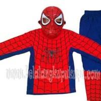 HOT SALE Baju Anak Kostum Topeng Superhero Spiderman Terjarmin