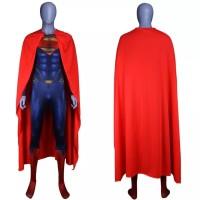 kostum Superman man of steel full sentai dewasa pria Halloween