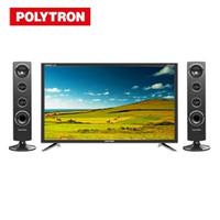 POLYTRON LED TV 32 Inch PLD 32T1850 Tower Speaker 32 PLD32T1850