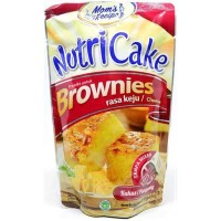 NUTRICAKE NUTRI CAKE BROWNIES INSTANT TANPA MIXER RASA KEJU