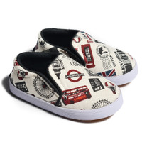 FirstLight.id K01 London Story sepatu anak balita gratis kaos kaki