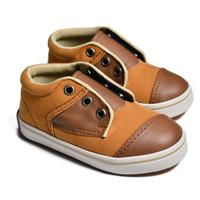First Light K02 Suede sepatu anak balita gratis kaos kaki - 24