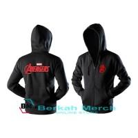 jaket hoodie zipper marvel the avengers - import quality