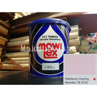 Mowilex Emulsion Helplessly Hoping Tinting Cat Tembok Interior