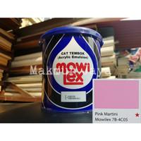 Mowilex Emulsion Pink Martini Tinting Cat Tembok Interior