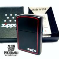 korek api Zippo KW SUPER ORI black Red