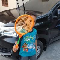 Sepasang Raket Badminton Anak - Mainan Raket Anak - Raket Mainan Anak