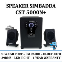 Speaker Aktif Simbadda CST 5000+ - Bluetooth,USB,Radio, AUX In