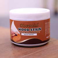 finishing kayu waterbased woodstain biovarnish mini can