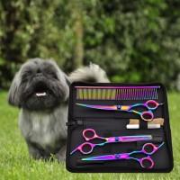 Set Gunting Grooming Bulu Hewan Peliharaan Anjing Kucing Animal Salon