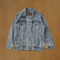 Jaket jeans levis / Trucker jacket washing biru muda