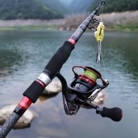 Sougayilang Joran Pancing Fishing pole and reel Combos 1.8m-3.0m