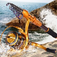 Sougayilang Joran Pancing Fishing Rod and Reel Combos Penggulung