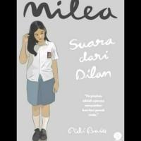 Buku Novel Milea - Suara Dari Dilan - Pidi Baiq