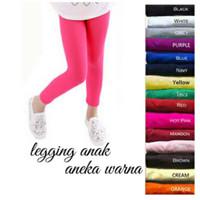Legging Anak Uk 3 - 4Tahun / Celana Anak Panjang Perempuan Leging Kaos