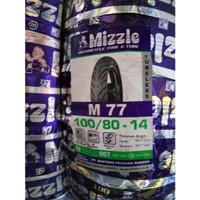 Ban Motor Mizzle 100/80-14 Ring 14 M77 Tubeless Murah & Original