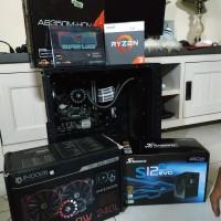 AMD Ryzen 3 2200G+ASRock Ab350m