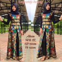 OUTER BATIK CARDIGAN LONG CARDI OUTFIT TERKINI MODEL ZIPPER