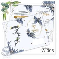 Undangan pernikahan murah, unik , modern ,wedding invitation WI005