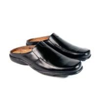 sepatu pantofel slop asli kulit