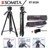 Tripod SOMITA ST 3520 panhead kamera dslr mirrorless hp