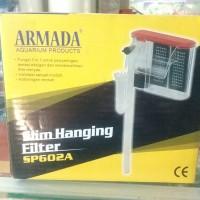 filter hang on dan surface skimmer armada sp 602
