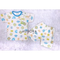 3Pcs Baju Velvet Junior Pendek LB Motif Wonderfull