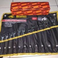Kunci Ring Pas Set 8-24 Bison/ Combination wrench