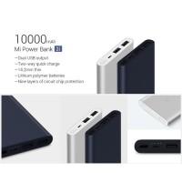 Powerbank Xiaomi Mi Pro 2i 10000mAh 2 USB FAST CHARGING PB Mi2i Mi 2i