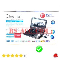 "Murah !!! Dvd Layar Portable 10"" In Tori Support Tv Ch 100% Original"