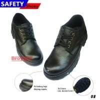 Sepatu Safety Pria Low Boots Tali 08