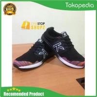 Kelme Float Knit Black N White Running Training Shoes Onestopshopz -