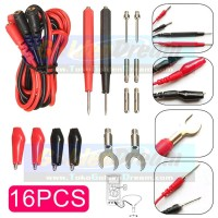 Various Multi Point Cable Tester Ragam Kabel Jepit Multimeter 16pcs