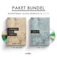 Paket Bundel 11:11 & Konspirasi Alam Semesta + CD - Fiersa Besari