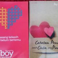 1 paket isi 10 Novel karya BOY CANDRA