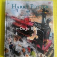 Harry Potter And The Sorcerer's Stone Illustrated Edition (Hard Cover)