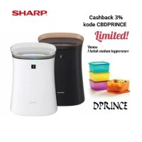 PROMO DISKON!!!! SHARP AIR PURIFIER FP-F40Y-T HITAM COVERAGE AREA