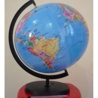 HOT SALE mainan world globe tiup balon udara peta bola dunia bumi