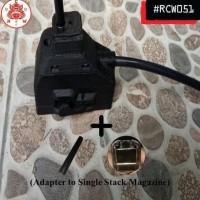 HOT SALE Adapter Converter Magazine M4 to GBB Hicapa Hi-Capa Hicap