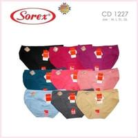 Sorex 1227 Ukuran EL - QL | Celana Dalam / CD Basic Mini Katun Adem