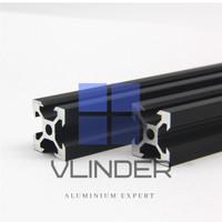 V Slot 2020 Alumunium CNC Track Industrial Black