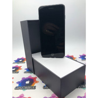 iphone 7 plus 128gb jetblack second fullset mulus