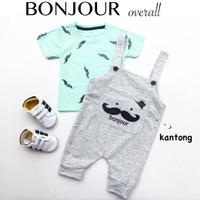 4pc@39.500 BONJOUR OVERALL setelan anak grosir baju bayi grosir