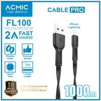 ACMIC FL100 Kabel Data Charger iPhone Lightning Original