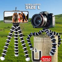 GorillaPod Flexible Tripod Kamera DSLR Ukuran L Besar Jumbo Large