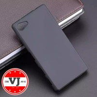 Softcase Sony Xperia Z5 Compact Case Black Matte Sony Z5 Mini