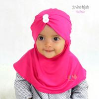 Jilbab Anak Balita Kekinian - Davina Hijab - Hijab Simple Anak 1-2thn