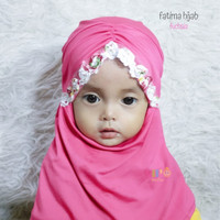 Hijab Anak Balita Kekinian - Fatima Hijab - Hijab Simple Anak 1-2thn
