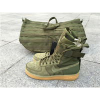 Sepatu Nike SF Air Force 1 Special Field Faded Olive Premium Original